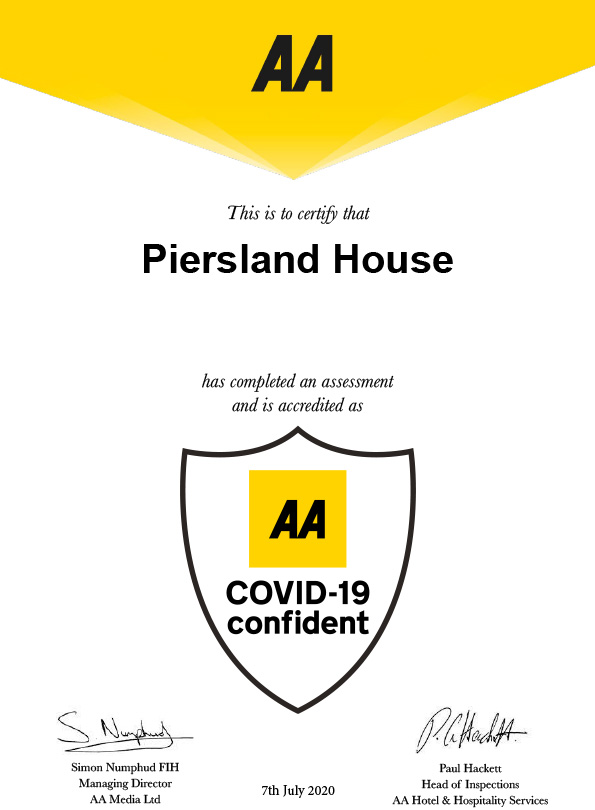 COVID AA accreditation